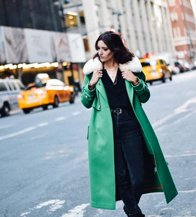 lener green coat