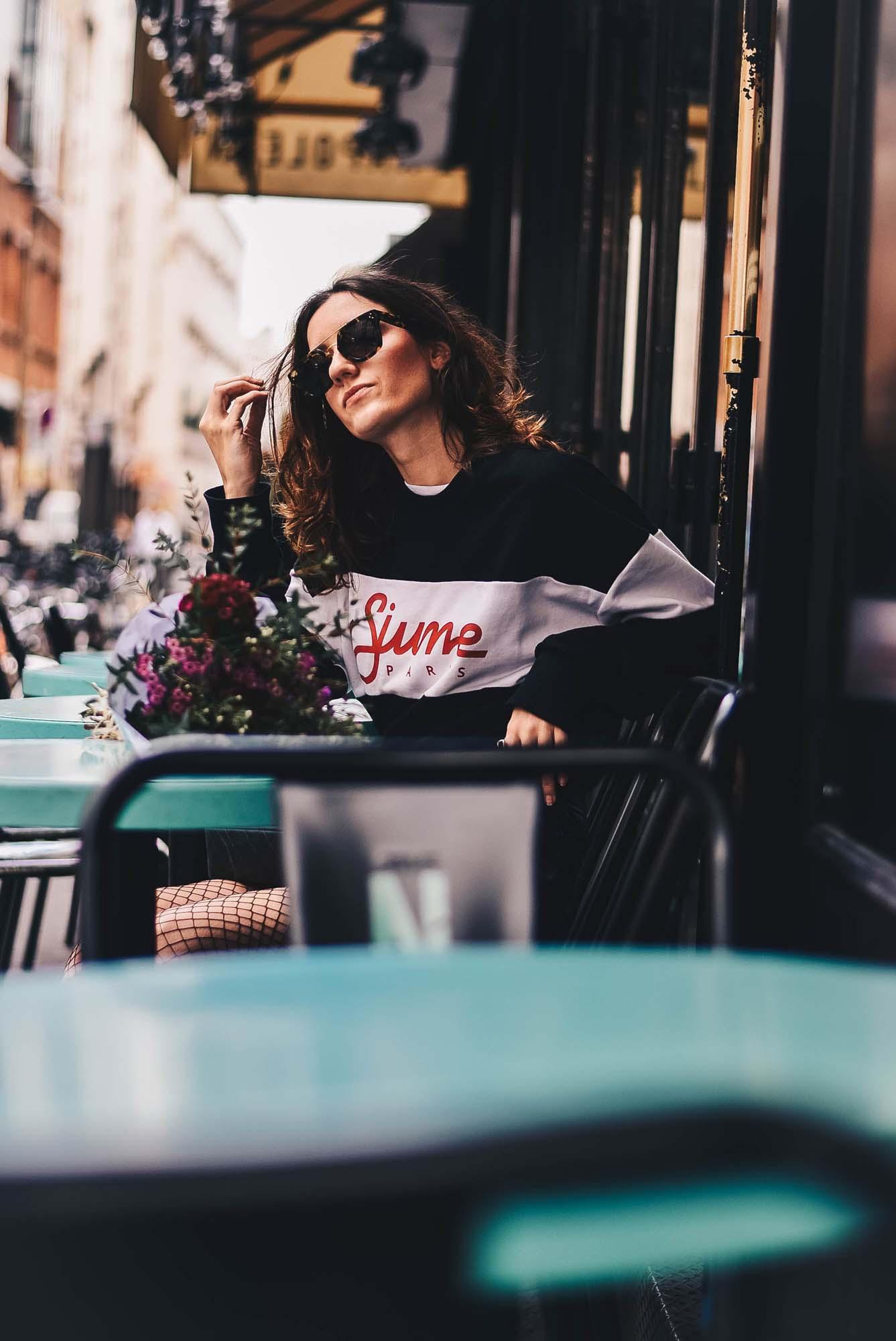 celine sunglasses paris 1yz5  Jupe*  Eleven Paris  Sweat*  SixthJune  Lunettes*  Celine via Easy  Lunettes Bas  H&M  Boots*  Minelli