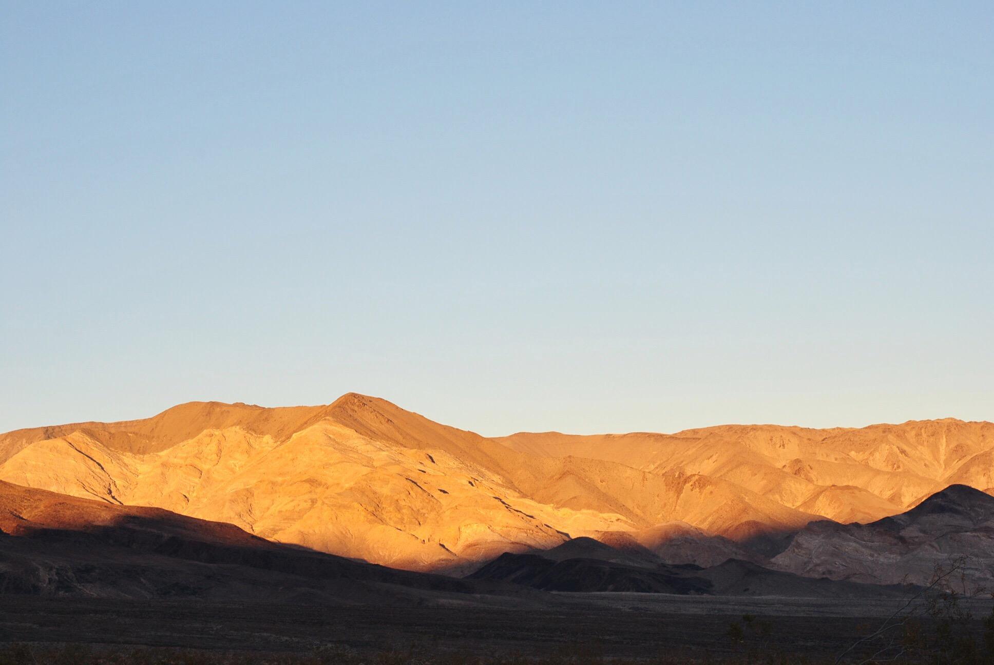 sunrise death valley