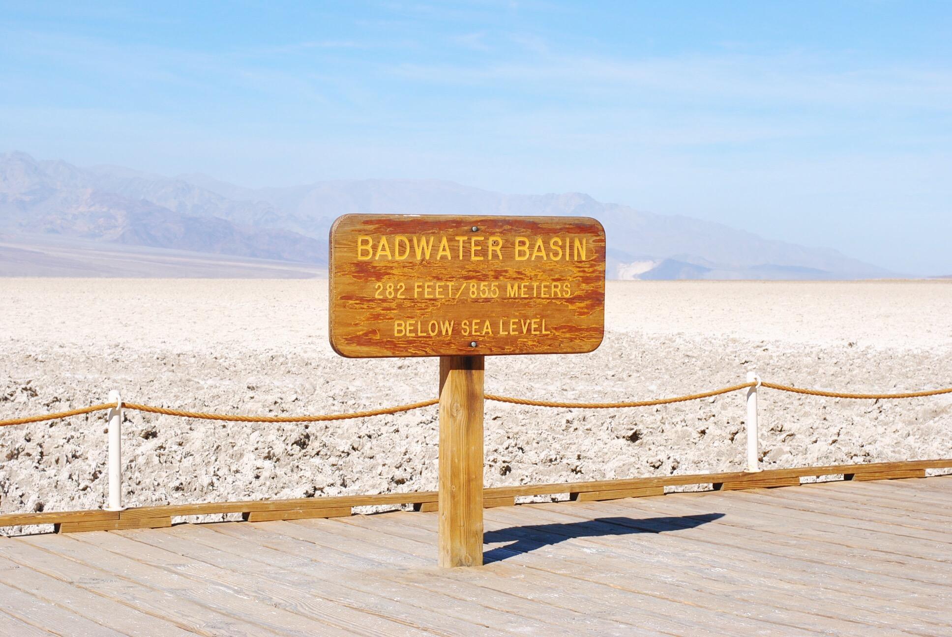 bad water bassin