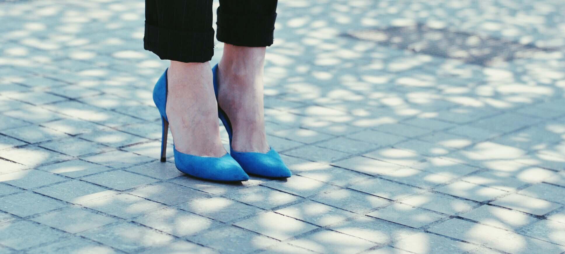 talons bleus
